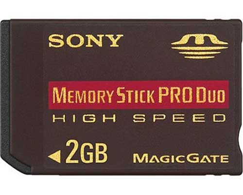 Sony Memory Stick Pro Duo 2GB High Speed