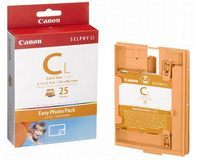 Canon Easy Photo Pack E-C25L 5.5x8.5cm (kleur, 25 vel stickers)