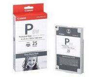 Canon Easy Photo Pack E-P25BW 10x15cm (zwart/wit, 25 vel)