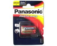 Panasonic CR123A Lithium batterij