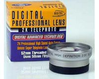 Digital Concepts High Resolution 2x Telelens 52mm