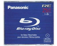 Panasonic LM-BE25 Blu-ray Disc 25GB (Rewritable)