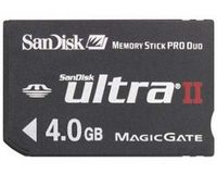 Sandisk Memory Stick Pro Duo Ultra II 4Gb