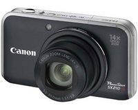 Canon Powershot SX210 IS (Zwart)
