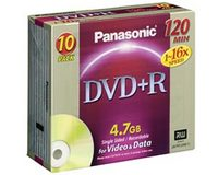 Panasonic LM-PR120NE10 DVD+R 4.7Gb (10 pack)