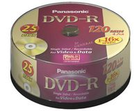 Panasonic LM-RS120NE25 DVD-R 4.7GB (25 pack)