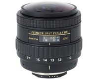 Tokina AF 10-17mm f/3.5-4.5 ATX DX Fisheye voor Nikon (Without hood) (AT-X107FX)